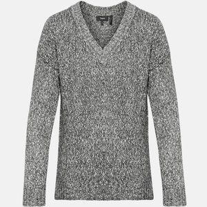 Slouchy V-Neck Pullover